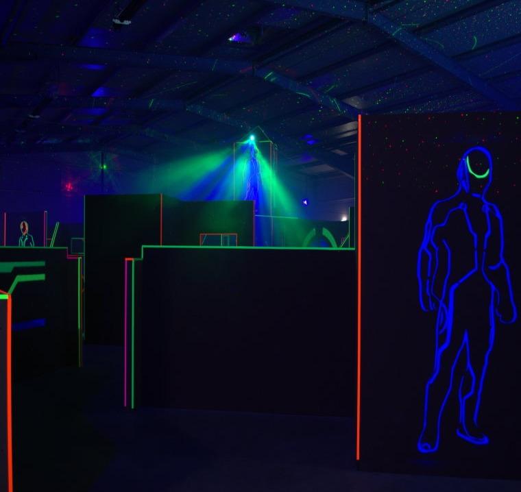 Lasertag im Funnymotion